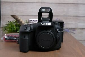 Canon-EOS-7D-Mark-II-20-2MP-Digital-SLR-Camera-Body-with-Strap-and-Charger