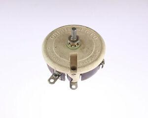 Memcor 4 Ohm 300W Single Turn Rheostat Tru-Ohm RP401FK4R0KK 4ohm 300 Watt