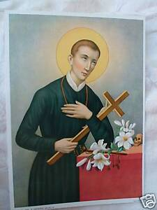 Catholic-Print-Picture-St-Gerard-Majella-Patron-Mothers-ready-to-be-framed