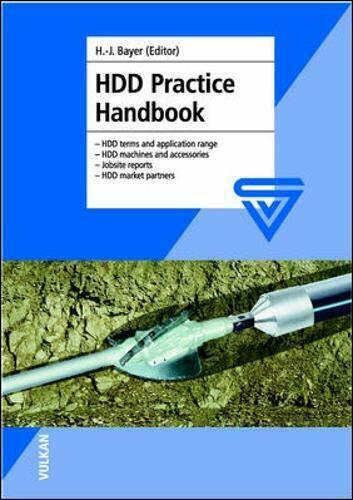 HDD Practice Handbook: HDD Terms and Applicatio, Bayer*-