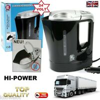 Truck HGV 24 Volt HI POWER 300W Electric Kettle 1Litre LORRY 24V DRINKS FOOD