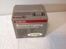 Edison Easy To Install Recessed Lighting 75W Open Aperture Downlight & Edison Easy-to-install Recessed Lighting Coilex Baffle 71/4 ... azcodes.com