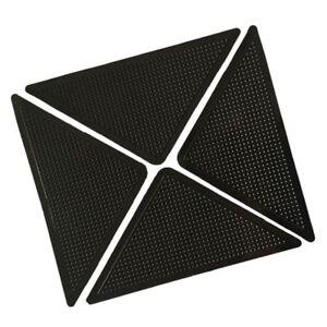 4x-Teppich-Teppich-Matte-Greifer-Rutschfeste-Anti-Skid-Wiederverwendbare-Wasc-SX