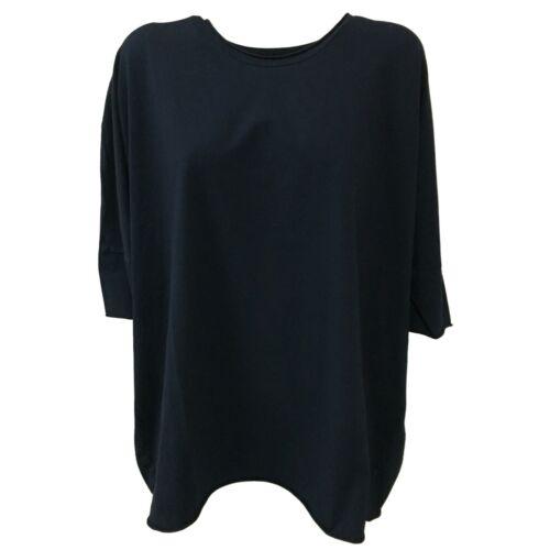 95 art Cotone Blu In Mod Donna Made Jersey Over Labo Italy Cervo Maglia 8T4qxwwdB