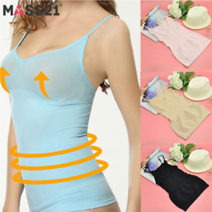 accc75a38a5ce7 Women s Seamless Vest Slimming Tank Top Tummy Control Cami Shaper ...