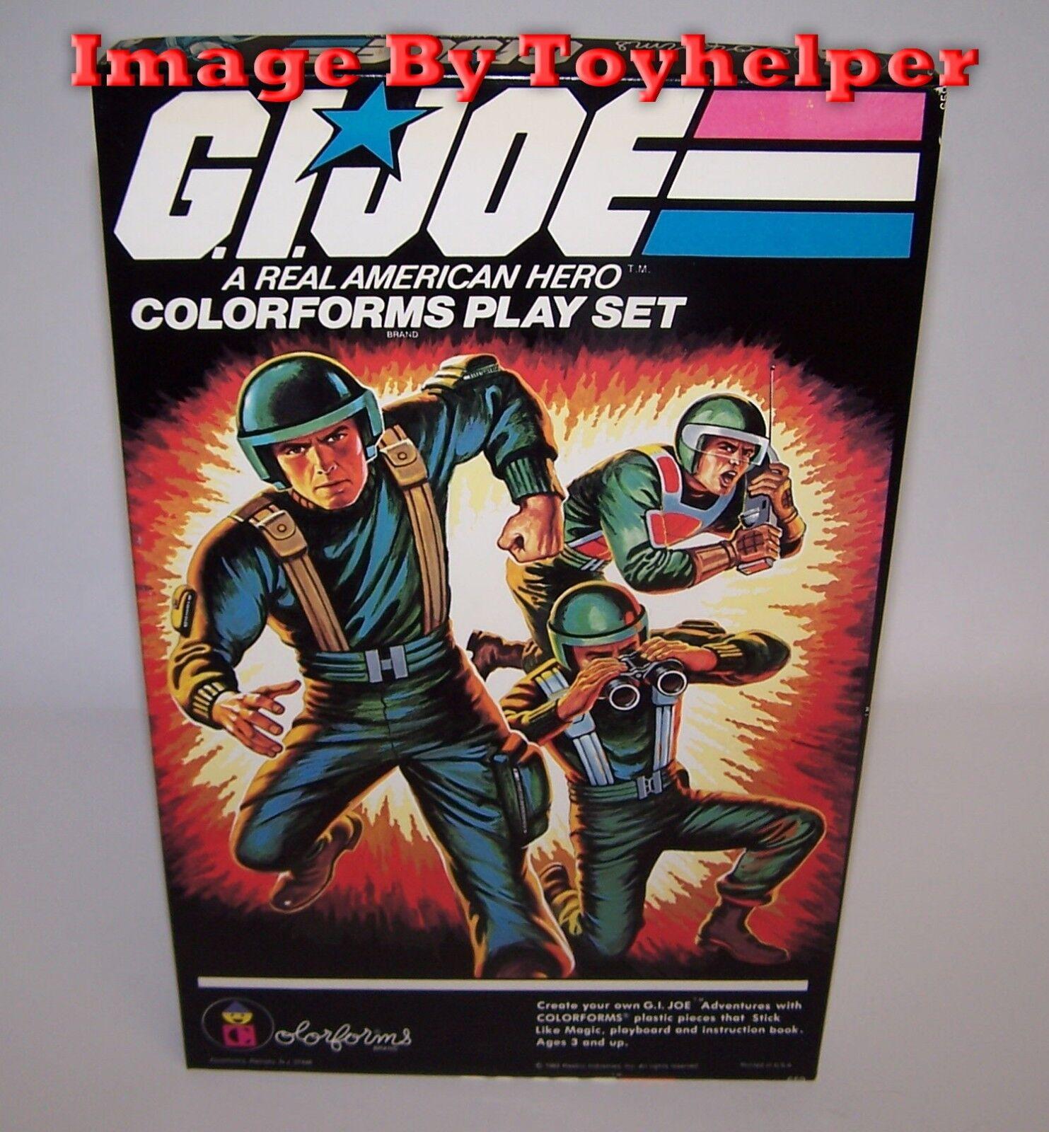 Gi - joe ein wahrer amerikanischer held Farbeforms spielen nicht im kasten gesetzt