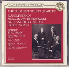 Schumann - Serkin, Casals, : Piano Quintet; Piano Trio No. 1 (CBS) Like New