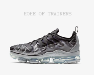 13441d0768 Nike Air VaporMax Plus Black Wolf Grey Men's Trainers All Sizes | eBay