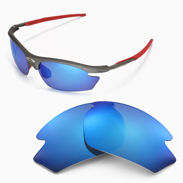a8e4db8c3e8 Walleva Polarized Ice Blue Replacement Lenses For Rudy Project Rydon  Sunglasses