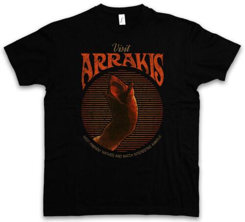 Visit Arrakis T-Shirt-Sandworms Dune immortalité Spice Harkonnens sandwurm