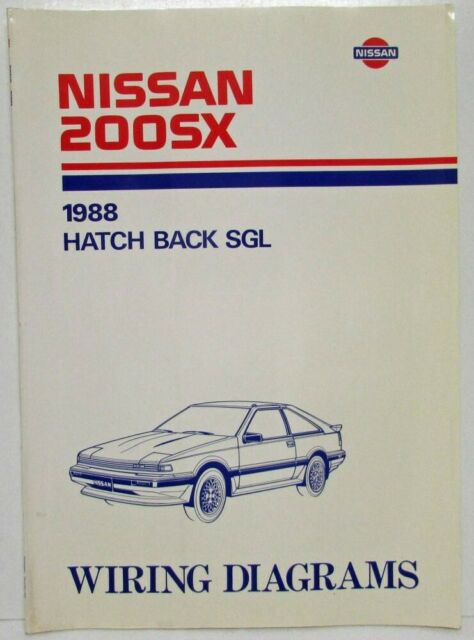 1988 Nissan 200sx Hatch Back Sgl Electrical Wiring Diagram