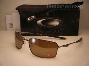 55d2d83c67 Oakley Square Wire Tungsten w Tungsten Iridium Polar Lens (oo4075-06 ...