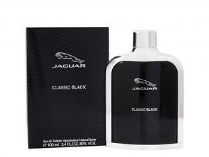 Detalles de JAGUAR CLASSIC EAU DE TOILETTE EDT 100ML BLACK SPRAY MEN 'S PARA ÉL. nuevo ver título original