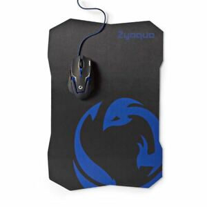 Nedis-Gaming-Mouse-amp-Mouse-Pad-Set-Wired-Mouse-2400-DPI-6-buttons-GMMP200BK