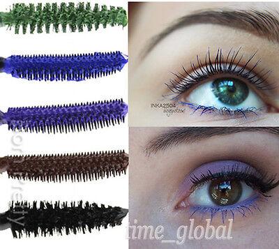Mascara Blue Purple Brown Gradient Colorful Curling Eyelash Cosmetic 5 Colors