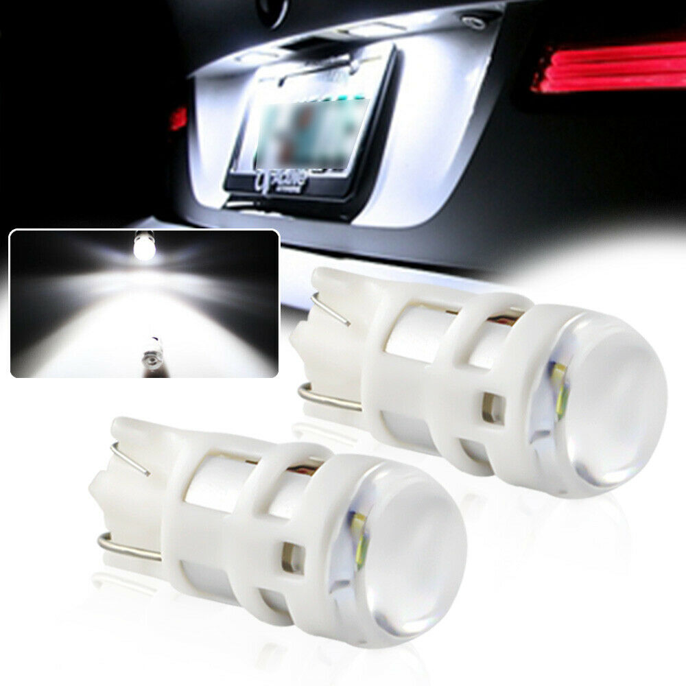 2pcs Amber 4500K T10 W5W LED Bulbs for Parking Lights ~Newest ~ Powered By Osram