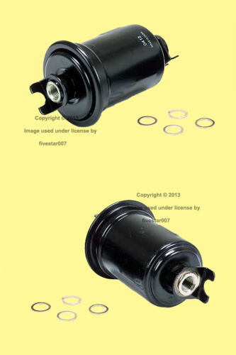 2 Gas Fuel Filters Strainer Cartridge Element Kit for Toyota 4Runner T100 Tacoma
