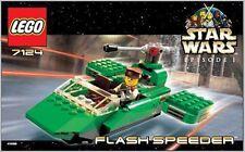 LEGO 7124 - Star Wars: Flashspeeder - INSTRUCTION MANUAL ONLY