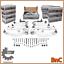 Brazos-Control-Kit-Set-Audi-A4-B6-8E-B7-Seat-Exeo-enlaces-de-suspension-delantera-de-pista miniatura 4