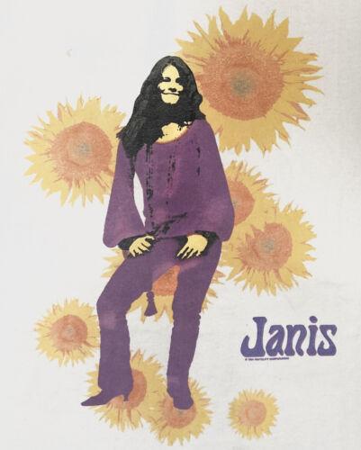 Vintage JANIS JOPLIN T Shirt 1994 AllSport Pro Wei