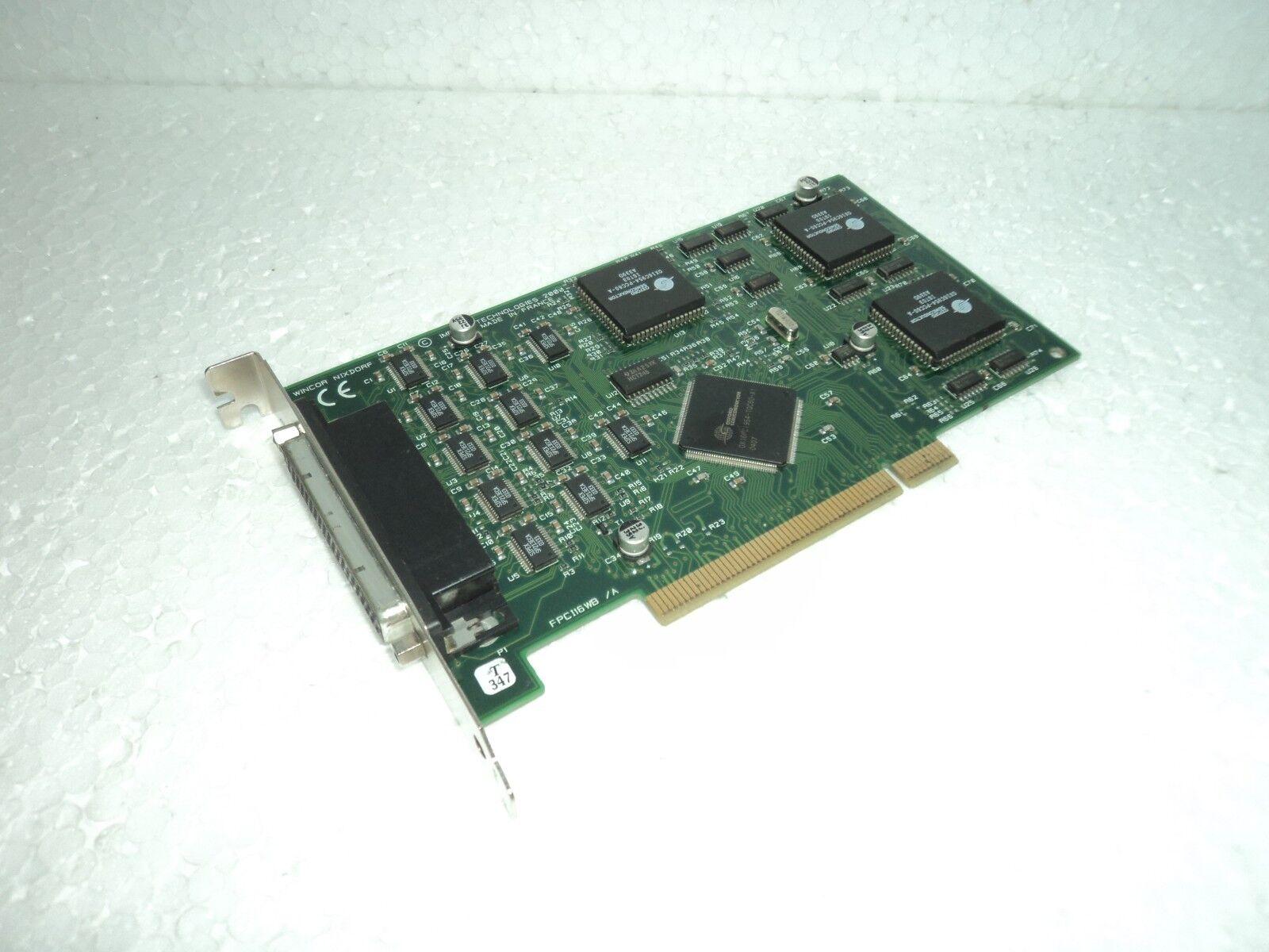 WINCOR NIXDORF Impact Technologies FPCl16WB A PCI Card