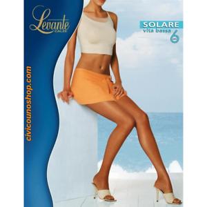 offrire sconti scarpe di separazione in vendita online Details about Collant Levante Solare 6 vita bassa svba