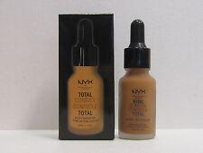 NYX Total Control Drop Foundation color TCDF15 Caramel 0.43 oz New In Box