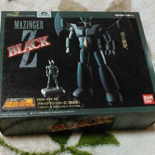 BANDAI Soul of Chogokin GX-01B Black Mazinger Z Limited Edition Figure Used