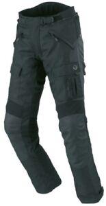 BUSE-BUESE-Bormio-Pantalones-moto-talla-54-XL-NEGRO-Membrana-climatica-Manguera
