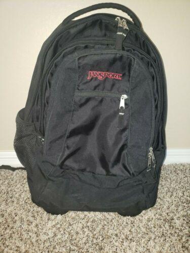 Jansport Rolliing Backpack Black
