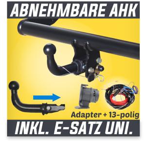 Für VW Passat B7 3C Stufenheck//Variant 10-14 auch 4Motion AHK abn.+ES 13p uni.