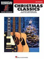 Christmas Classics Sheet Music Essential Elements Guitar Ensembles Mid 000865015