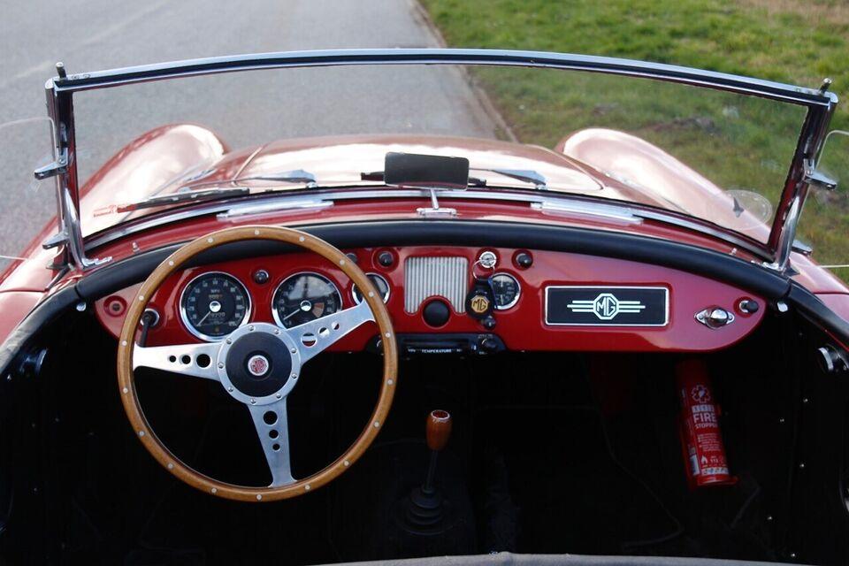 MG A, 1,5 Roadster, Benzin