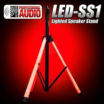 Lighted Speaker Stand - Ultra Bright LED Tubes - Adkins Professional