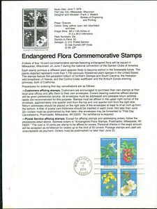USPS-1979-First-Day-Issue-Souvenir-Page-1-00-Americana-Series