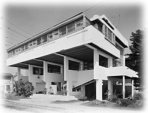 image is loading iconic rudolph schindler design lovell beach house architectural - Beach House Drawings