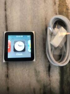Apple Ipod Nano 6th Gen Silver 8 Gb New Battery Very Nice New Lcd Ebay