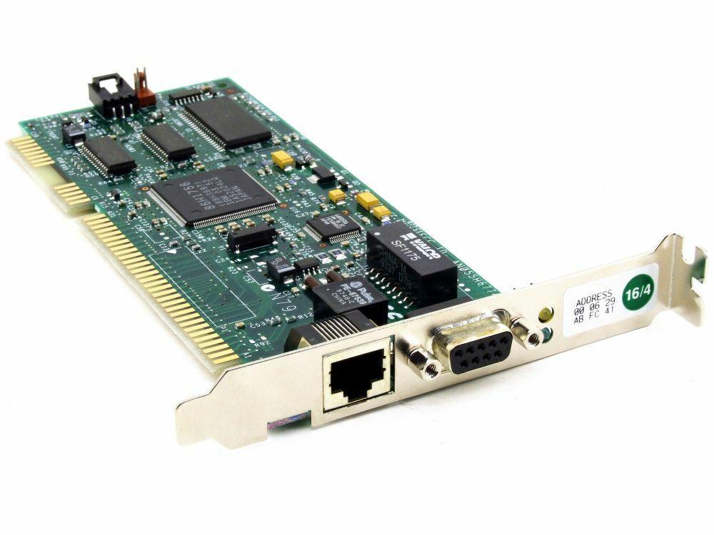 IBM 55h6810 an055h6774 Turbo Car Wake 16/4 TOKEN RING ISA Adapter