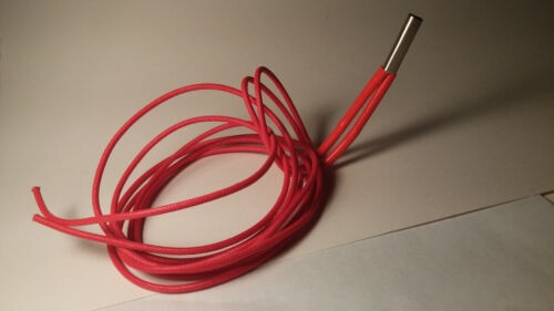 3D Printer Cartridge Heater Stainless Steel 1M//12V//20W  Mendel Rep Rap