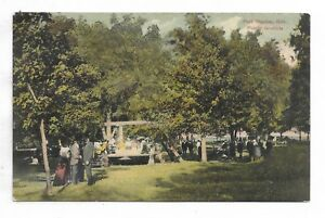Elgin-County-PORT-STANLEY-ONTARIO-Picnic-Grounds-Circa-1910