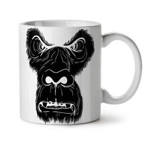 Monkey Face Wild Animal NEW White Tea Coffee Mug 11 oz | Wellcoda