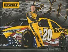 2016 Matt Kenseth Dewalt Tools Toyota Camry NASCAR Sprint Cup postcard