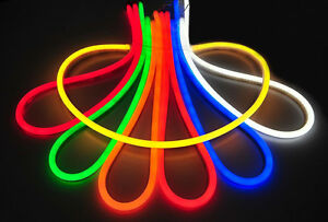 Led neon rope light flexible rope lighting 120v custom cut to length image is loading led neon rope light flexible rope lighting 120v aloadofball