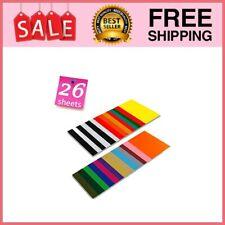Heat Transfer Holographic Vinyl HTV Bundle for T-Shirt 12x10 5 pcs//Pack