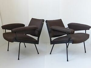 gro artig paar sessel jahre 50 arbeit italienisch 1950 vintage 50er jahre st hle ebay. Black Bedroom Furniture Sets. Home Design Ideas