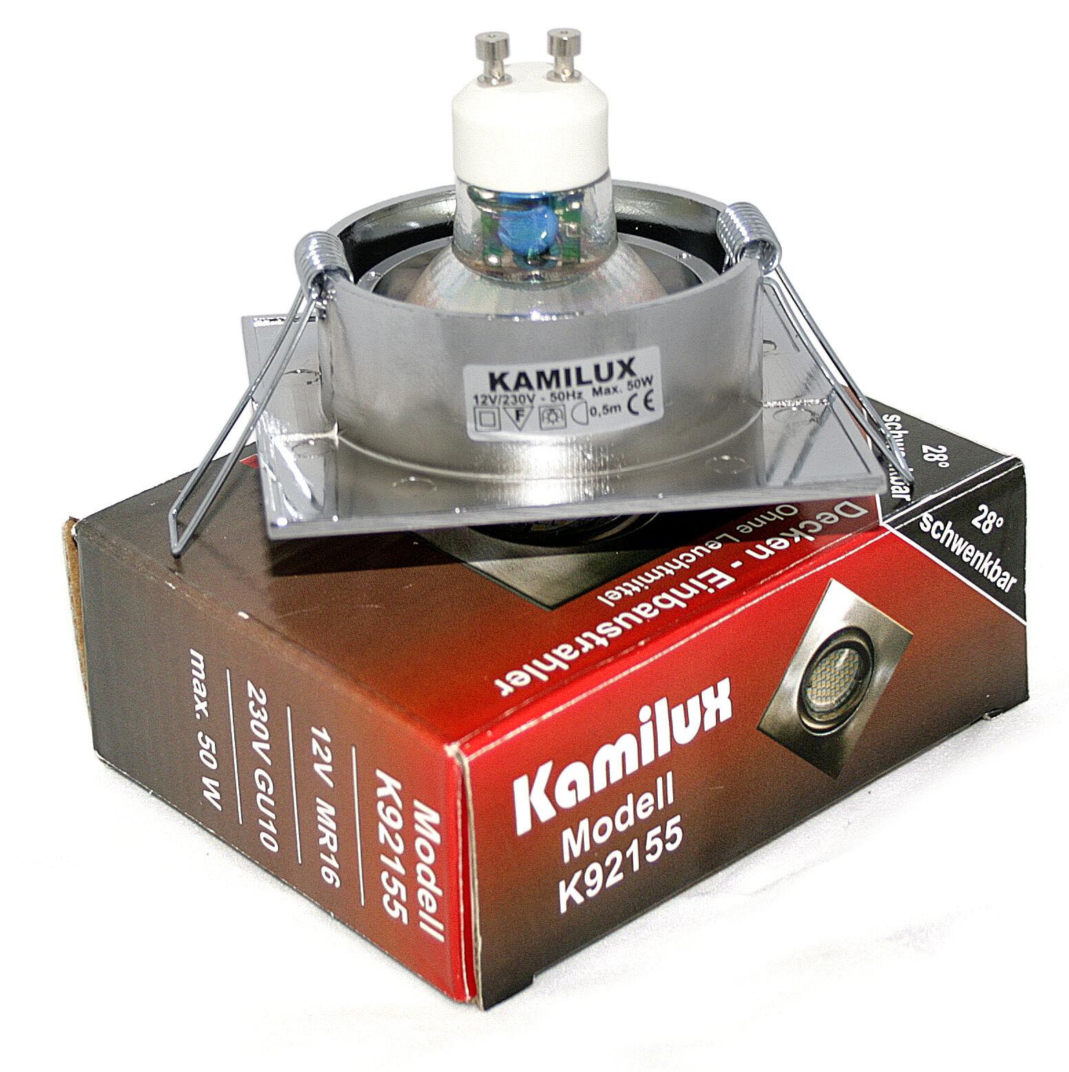 Instalación spot LED emisor de instalación lámpara k92155 gu10 gu10 gu10 5w SMD enmarcar LED 230v 936ffe