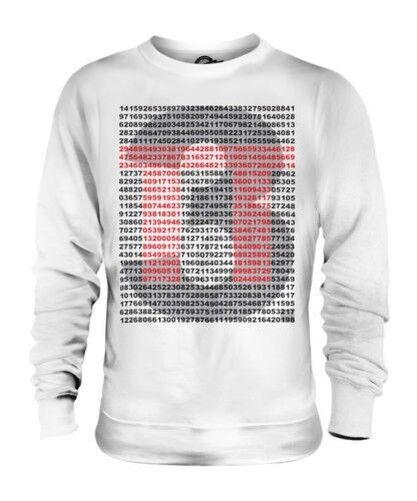 Pi zu 999 Orte Unisex Pullover Top Geschenk Mathe Wissenschaft