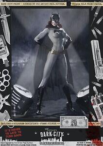 Batgirl-Classic-Gotham-Dark-City-Var-Comic-A3-Print-Sexy-Batsignal-Batman-Joker