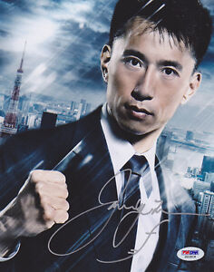 James-Kyson-Lee-SIGNED-8x10-Photo-Ando-Masahashi-Heroes-PSA-DNA-AUTOGRAPHED
