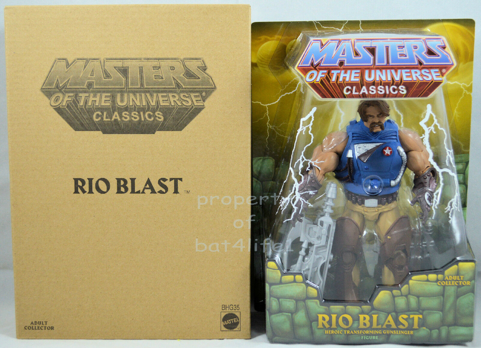 Masters of the Universe Classics RIO BLAST Club Eternia MOTUC  NEW